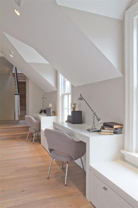 shaped desk home office farmhouse  gray upholstered