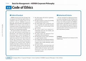 ambulance services sample code of ethics for business With company code of ethics template