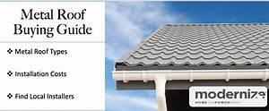 Metal Roofing Costs - 2020 Price  U0026 Buying Guide
