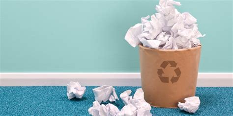 reduce office paper waste    business  green