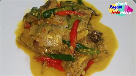 Siapa bilang masak udang itu ribet? Resep Ikan Bandeng Pindang Masak Kuning - YouTube