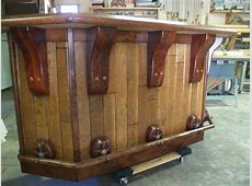 Hand Crafted Rustic Western Bar by Art Of Wood