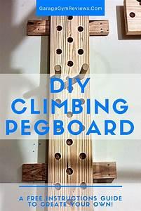Diy Climbing Peg Board