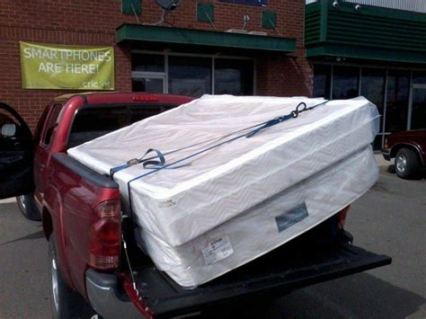 how to move mattress queen size bed in short bed tacoma world