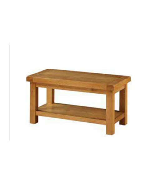 Oakleigh Small Coffee Table With Shelf