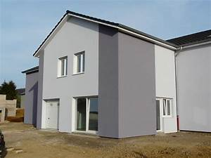 isolation des murs finition crepis grese With couleur facade maison contemporaine 9 maison moderne grise