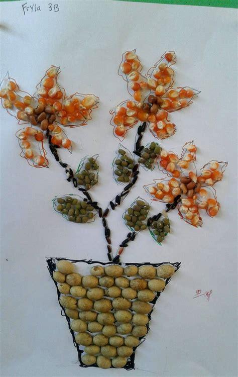 Mozaik Dari Biji Bijian Shefalitayal