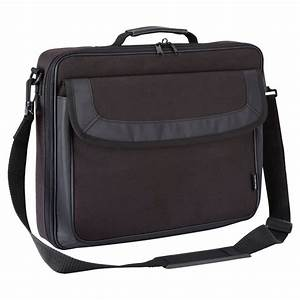 classic 15 156quot clamshell laptop bag black With bag for carrying papers and documents