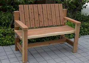 Diy Garden Bench Preview