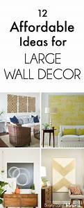 Best 25 large wall art ideas on pinterest large art for How to decorate walls with art