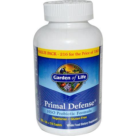garden of primal defense garden of primal defense hso probiotic formula 216