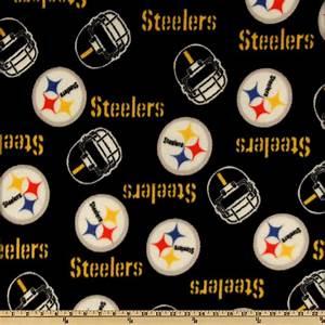 NFL Fleece Pittsburgh Steelers Medium Logo Yellow