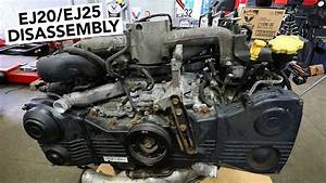 Subaru Engine Rebuild - Ej20    Ej25 Teardown How To