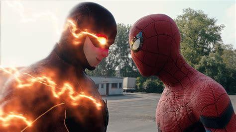 spider man homecoming spider man   flash fight scene