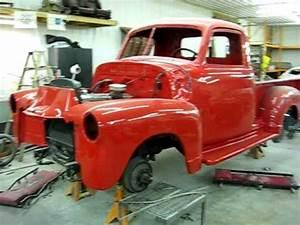 Pick Up Chevrolet 1950 : custom paint work 1946 chevy pick up cool vanilla paint 1950 chevy pick up viper red youtube ~ Medecine-chirurgie-esthetiques.com Avis de Voitures