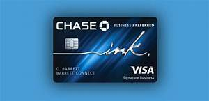 Chase introduces the ink business preferred card for Chase business card services