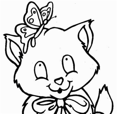 coloring pages  kids cat coloring pages  kids
