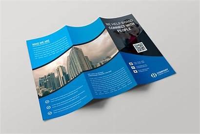 Brochure Fold Tri Creative Paris Template Brochures