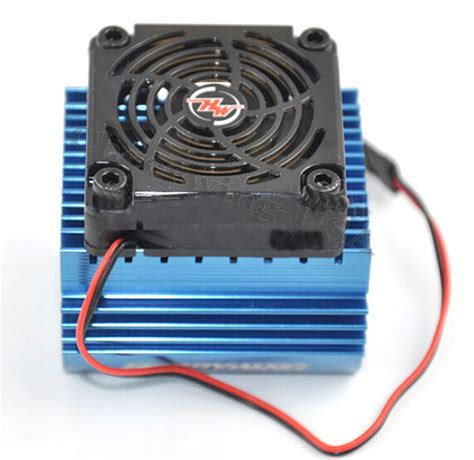 hobbywing ezrun   cooling fan   mm motor heat sink system   car ebay