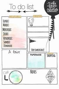 Free printables to do list et stickers dores contenus for Idees pour la maison 7 derniare semaine avant les vacances de no235l