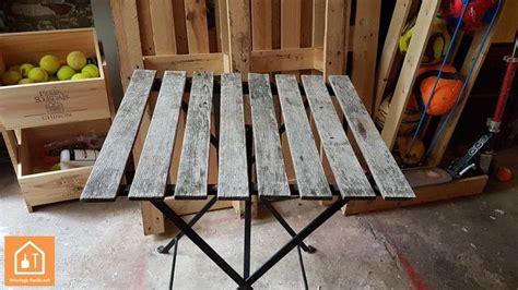 Rénover une table de jardin IKEA : tuto DIY outils