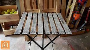Table De Jardin Ikea : r nover une table de jardin ikea tuto diy outils bricolage facile ~ Teatrodelosmanantiales.com Idées de Décoration