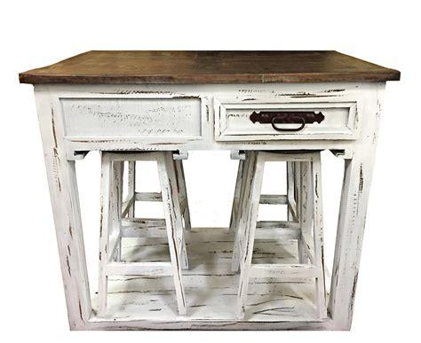 kitchen island   stools  rustic canyon turners