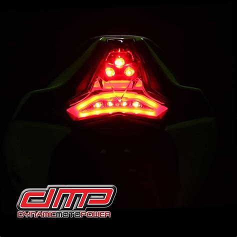 integrated led lights zx10r rr 16 18 integrated led smoked light moto911