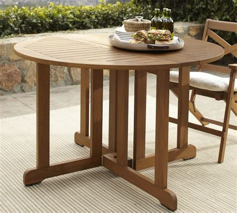 pottery barn table drop leaf table could be used as half