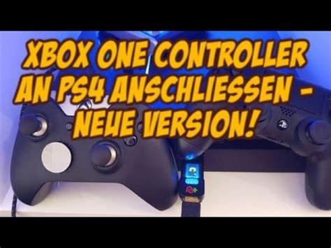 ps4 pro neue version cronusmax v3 xbox one controller an ps4 anschliessen neue version