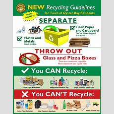 Recycling Information (sort)  Town Of Oyster Bay