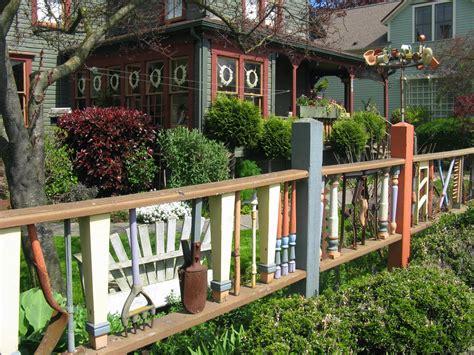 cool fence designed  unique fences concept  colored  cute colorful color