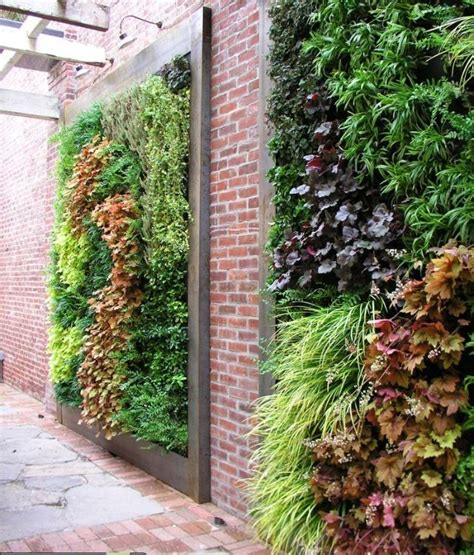 Vertical Herb Garden Design by 60 Best Garden Walls And Fences Images On