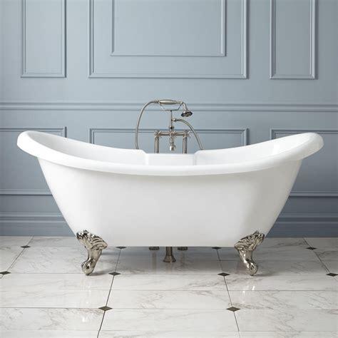 bathroom designs with clawfoot tubs rosalind acrylic clawfoot tub imperial bathroom