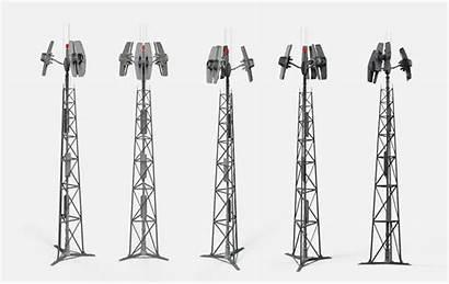 Antenna 3d Fantasy Models Max