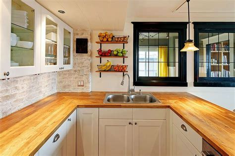 white cabinets with wood countertops wood kitchen countertops design ideas designing idea