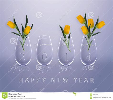 Calendar New Year 2014 2015 2016 2017 Stock Photos