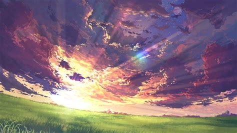 Anime Wallpaper Landscape - anime landscape nature peace peaceful wallpaper