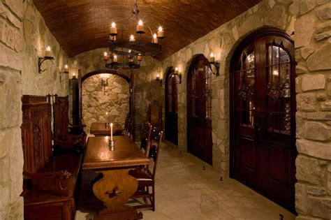 Malinard Manor   Wine Cellar   Traditional   Wine Cellar   Austin   by Cravotta Interiors