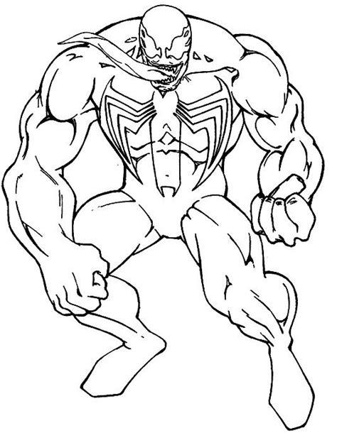 venom coloring pages printable google search artwork