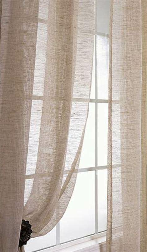 les rideaux en lin naturel simbolisent le confort  lelegance  la maison archzinefr