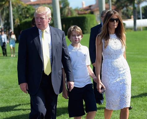 barron trump melania donald nephews nieces most behind trumps health