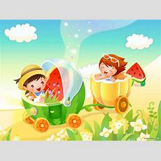 50 Colorful Cartoon Wallpapers For Kids Backgrounds In Hd