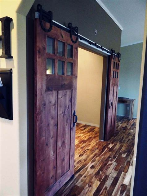 rustic interior barn doors  sale interior barn doors