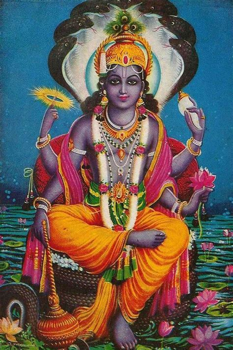 """""""lord Vishnuhindu God Of The Home And Relationships"""