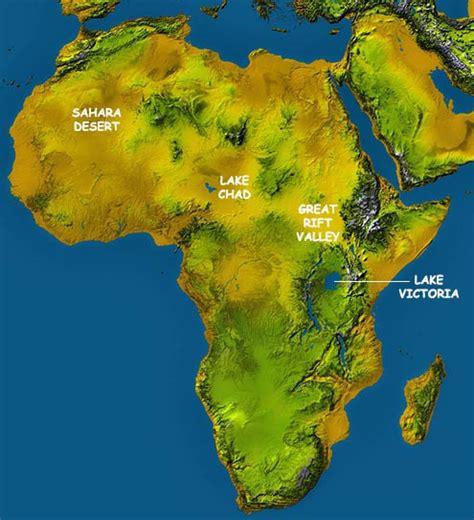 africa map map  africa worldatlascom