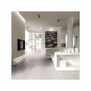 echantillon sol stratifie effet parquet chene major blanc With parquet stratifié blanc brillant