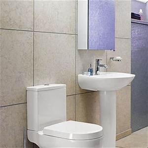 Tips for tiling a small bathroom bathstore for Small bathroom big or small tiles