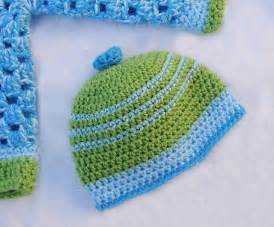 Easy Baby Boy Crochet Hat Patterns