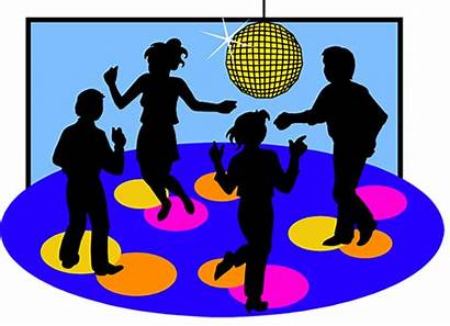 Party Dance Dancing Clipart Events Fun Sept